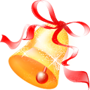jingle, christmas Red icon