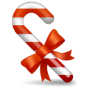 Candy, christmas Firebrick icon