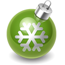 christmas OliveDrab icon