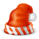 christmas, hat Chocolate icon