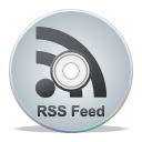 Rss, compact disk, grey, Cd, feed Silver icon