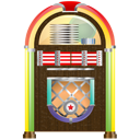 Jukebox, music DarkOliveGreen icon
