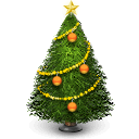 christmas, winter, Holiday, december, Tree Black icon