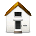 Home, house Black icon