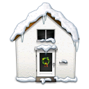 snowy, house WhiteSmoke icon
