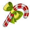 Candy, christmas Black icon
