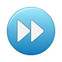 Blue, ffw, button SteelBlue icon