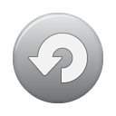 grey, repeat, button Gray icon
