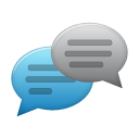 references, talk, Fox, Comments, Chat SteelBlue icon