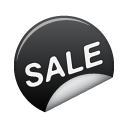 sticker, sale DarkSlateGray icon