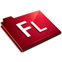Folder, Flash Black icon