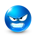 Avatar, smiley DodgerBlue icon