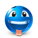 smiley, Avatar DodgerBlue icon
