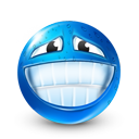 smile, Face DodgerBlue icon