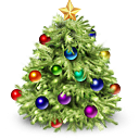 christmas, Tree, xmas DarkOliveGreen icon