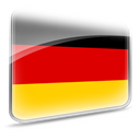 germany, flag Red icon