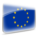 Eu, union, europe, european union, flag DarkBlue icon
