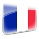 flag, france DarkBlue icon