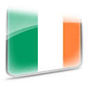 flag, Ireland Teal icon