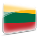 Lithuania, flag DarkSlateGray icon