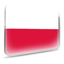 polska, poland, flag Crimson icon