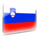 slovenia, flag Blue icon