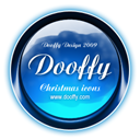 dooffy design, christmas MidnightBlue icon