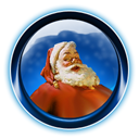 santa, dooffy, ikony, 0003, christmas MidnightBlue icon
