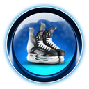ikony, christmas, dooffy, skate, Ice, 0001 MidnightBlue icon
