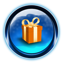 gift, present, christmas MidnightBlue icon
