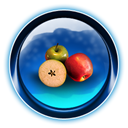 Apples, Fruit, food MidnightBlue icon