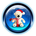 christmas, bear MidnightBlue icon