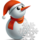 snowman DarkGray icon