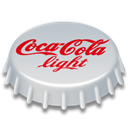 light, 256, Coca, cola Black icon