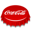 soda, Coca cola Red icon