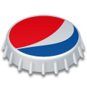 Cap, Bottle cap, pepsi Crimson icon