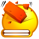 Brick, Beat OrangeRed icon