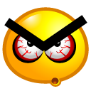 choler, Angry Orange icon