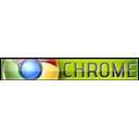 chrome, google chrome YellowGreen icon