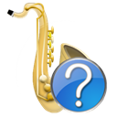 saxophone, instrument Icon