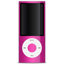 pink, ipod Black icon