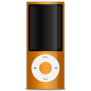 nano, Orange, 5g, ipod Black icon