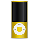 yellow, 5g, nano, ipod Black icon