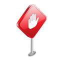 stop, sign Black icon