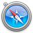 safari, Agua Black icon