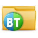 torrent, Folder Black icon