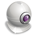 Webcam Black icon