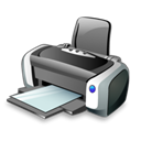 printer Black icon