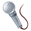 Microphone, record Black icon