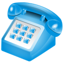 phone DodgerBlue icon